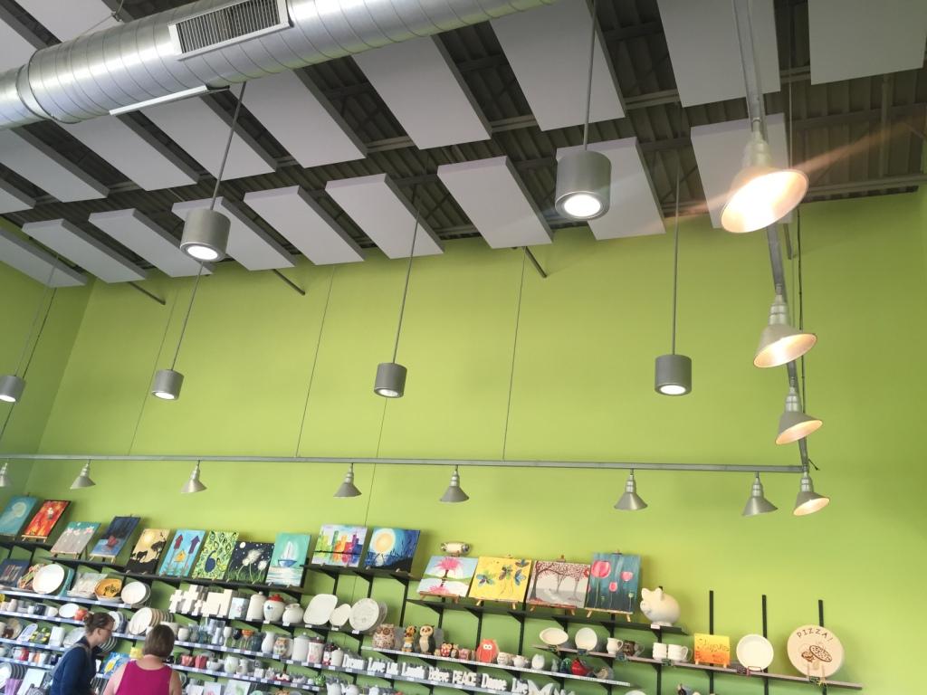 Clay-Corner-Studio-GIK-Acoustics-242-Acoustic-Panels-on-ceiling