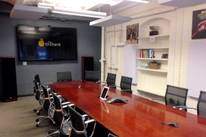 GIK 242 Acoustic Panels Ceiling The Orchard Conference Room