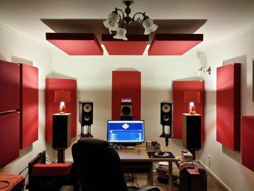 GIK 242 Acoustics Panels in Auckland NZ Home Studio