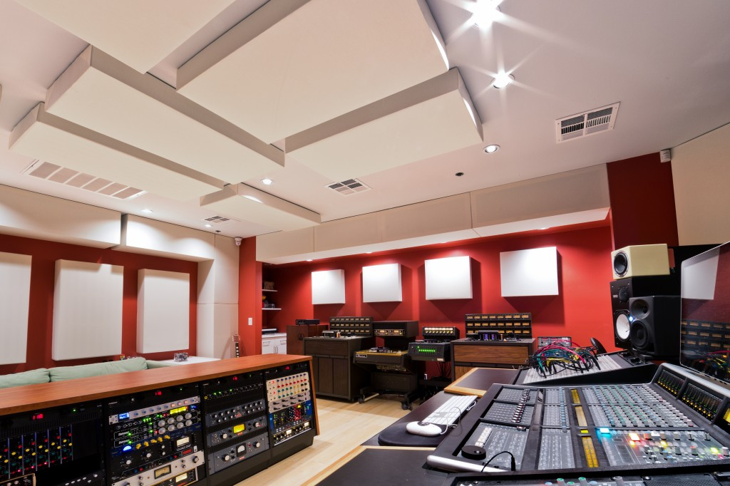 Lost-Ark-Studio-Control-Room-GIK-Acoustics-Soffit-Bass-Trap
