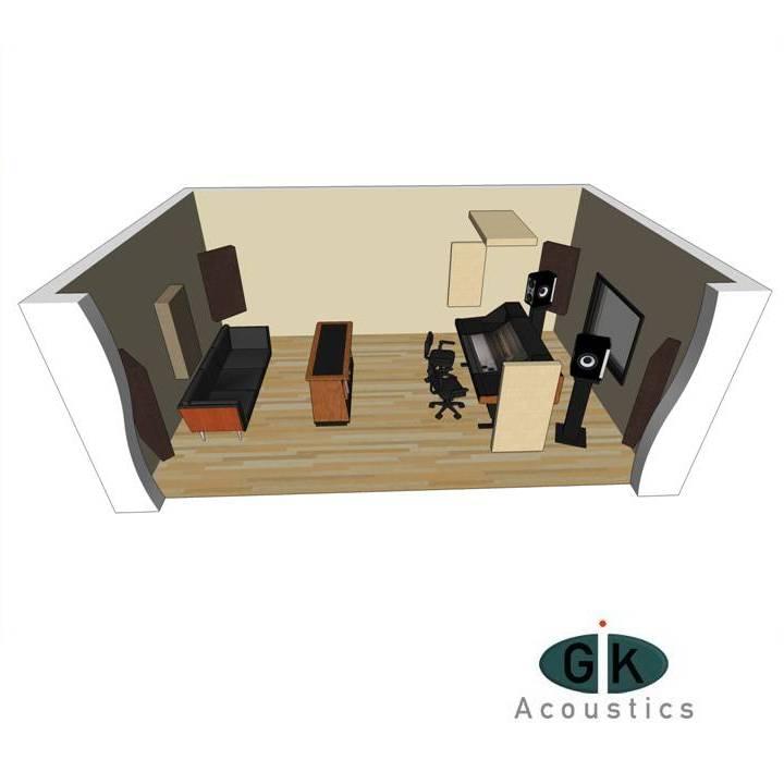 1 kit acoustiques pour pi ce gik acoustics europe. Black Bedroom Furniture Sets. Home Design Ideas