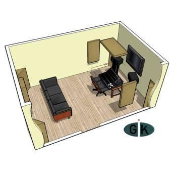 GIK Acoustics Room Kit #3 sq