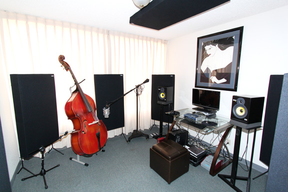 GIK Acoustics Monster in Cello room