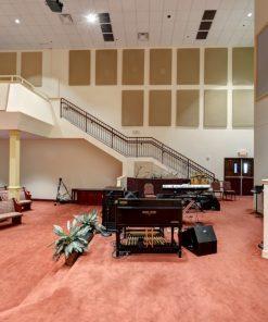 GIK Acoustics panneau acoustiques 50mm Antioch baptist church