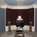 GIK Acoustics Tri Traps in Listening Room