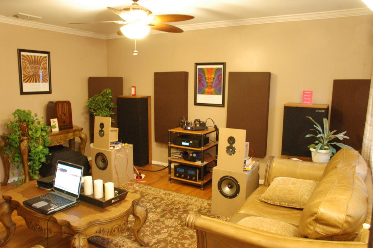 GIK Acoustics in Living Room 2-18-09