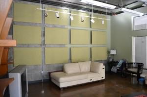 Lobby Spot Panneau Acoustiques GIK Acoustics