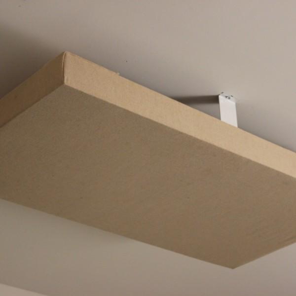 panneaux acoustiques au plafond crochets de fixation en. Black Bedroom Furniture Sets. Home Design Ideas