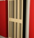 GIK Acoustics 24×48 4A Alpha Panel mounted on wall