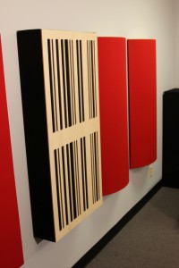 GIK Acoustics 24x48 6A Alpha Panel mounted on wall