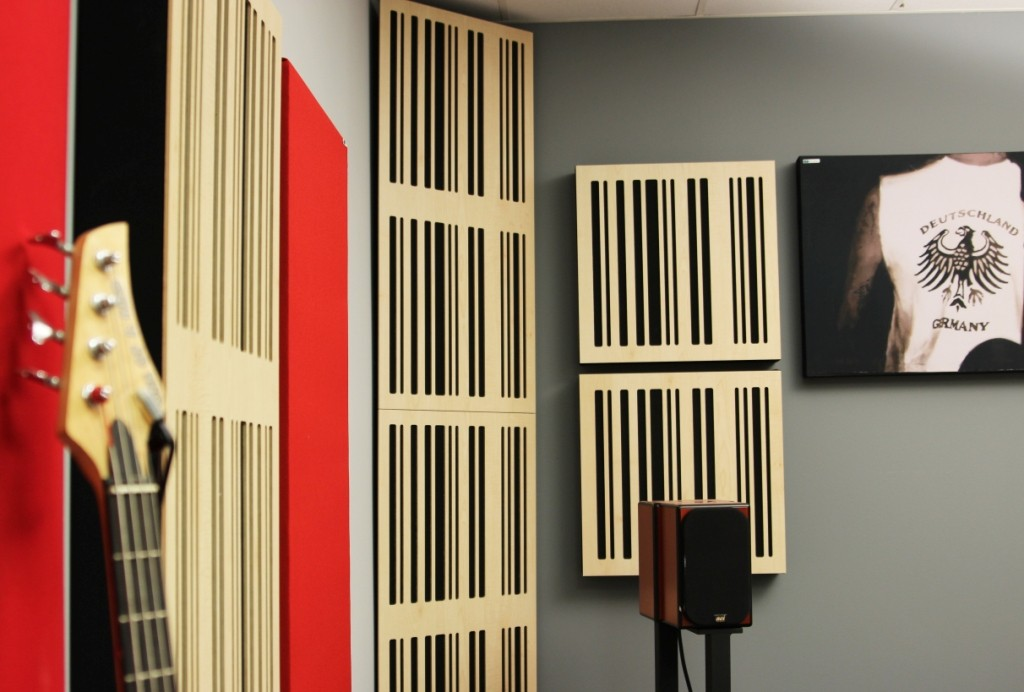 GIK Acoustics Alpha Wood Series in studio