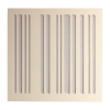 GIK Alpha Panel 24×24 white panel white fabric