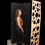 Panneaux amovibles (gobo) et pare sons
