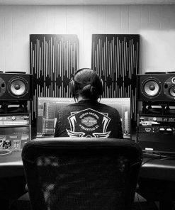 Brandon Moore Mixing Studio GIK Acoustics Impression Series Pro
