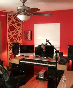 GIK Acoustics Impression Series Corner Bass Traps Twin Sun Studios Jon Kintz