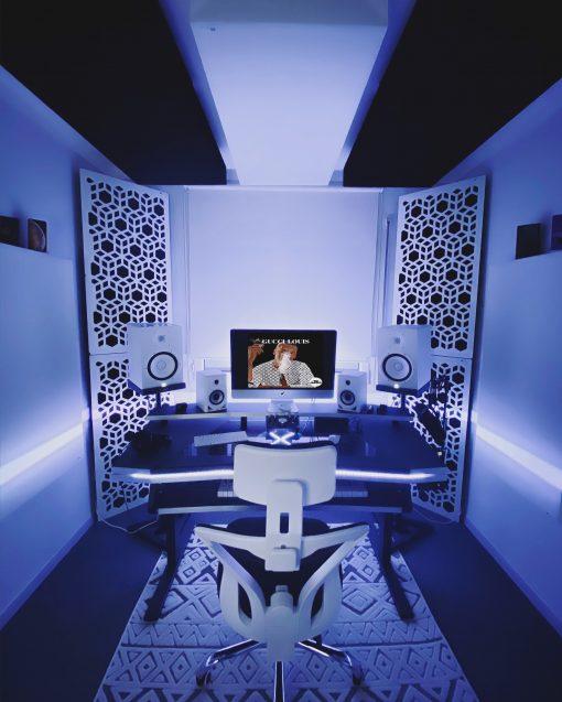 Ted Camozzi Studio GIK Acoustics Impression Series