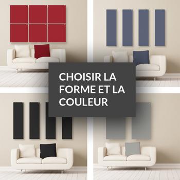 Choisir la forme et la couleur