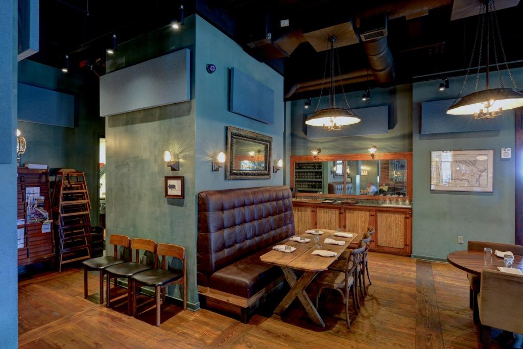 Panneaux Acoustiques restaurants Empire State South restaurant