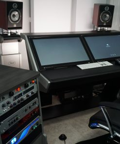 GIK Acoustics Studio Setup 244 bass traps