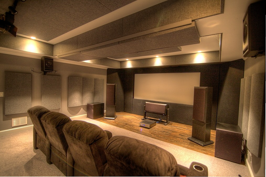 GIK Acoustics Home Theater