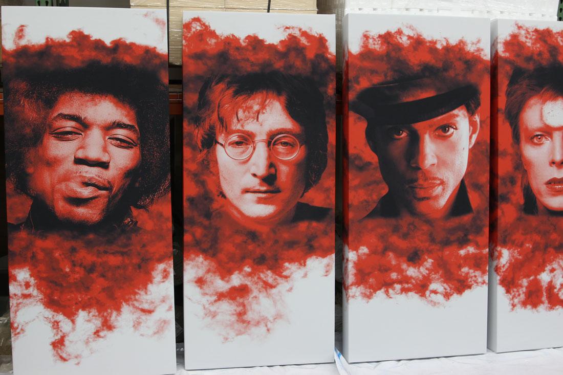 GIK Acoustics art panneau acoustique panneaux acoustiques chanteurs