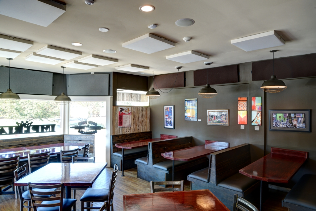 GIK Acoustics Spot Panneaux Acoustiques et The Imperial Restaurant Acoustiques