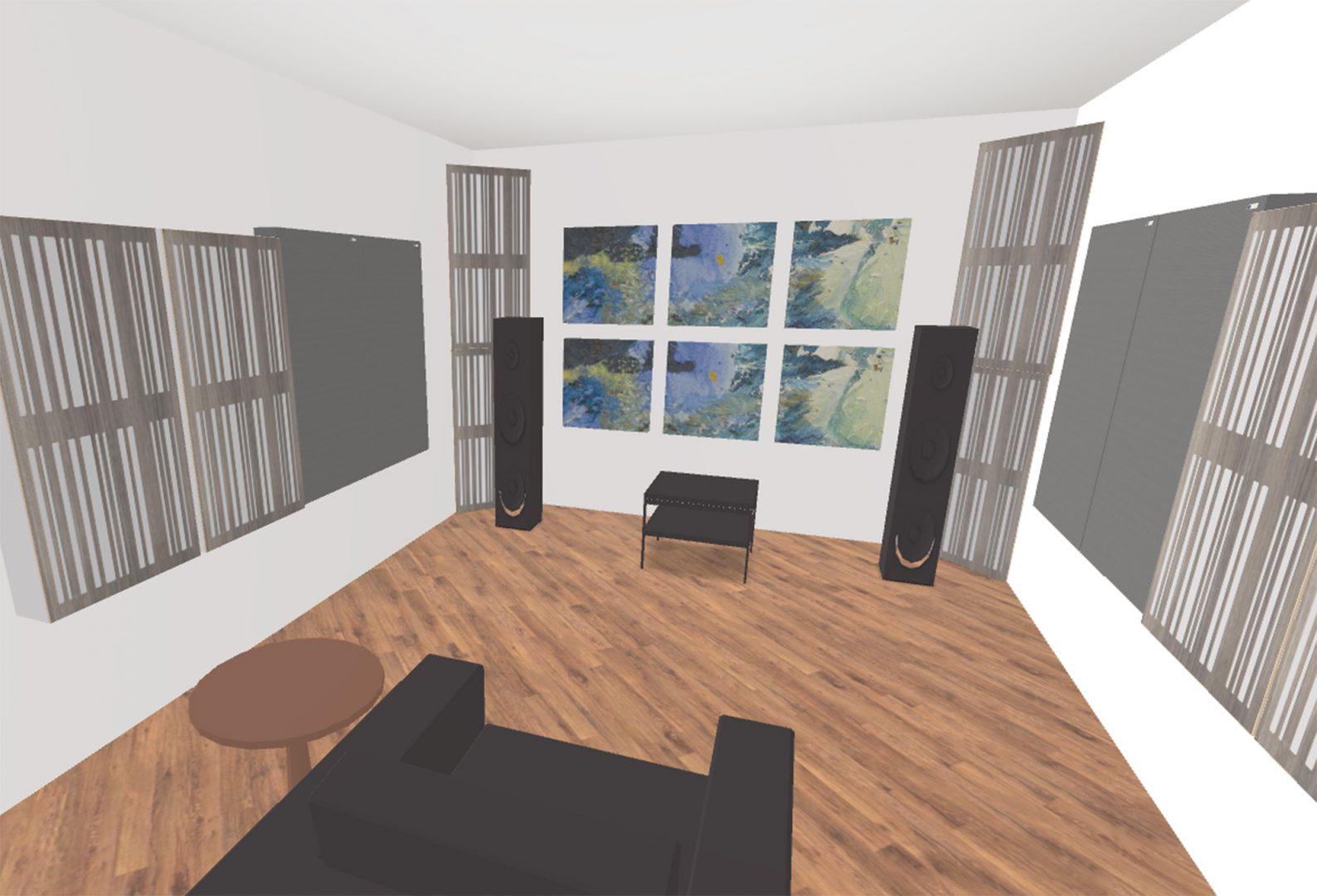 Salle d'Écoute Hi-Fi
